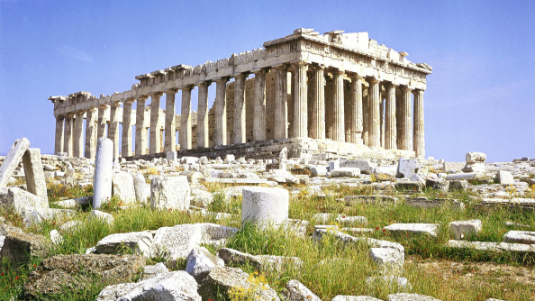 One of the top European wonders is the Acropolis / Partenon in Athens, Greece