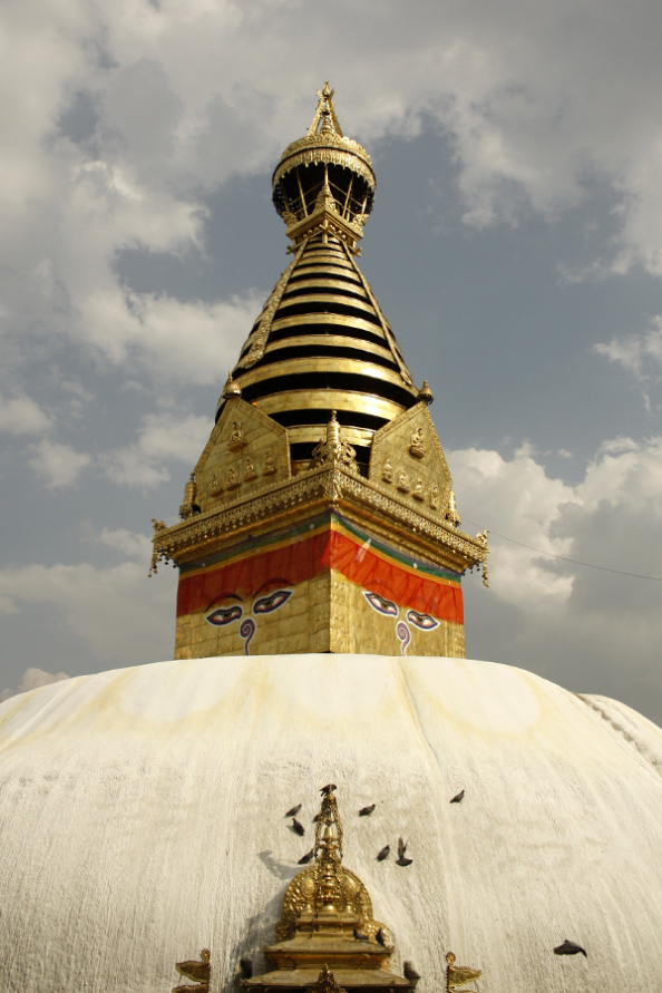 Swayambhunath Stupa, Kathmandu in Nepal