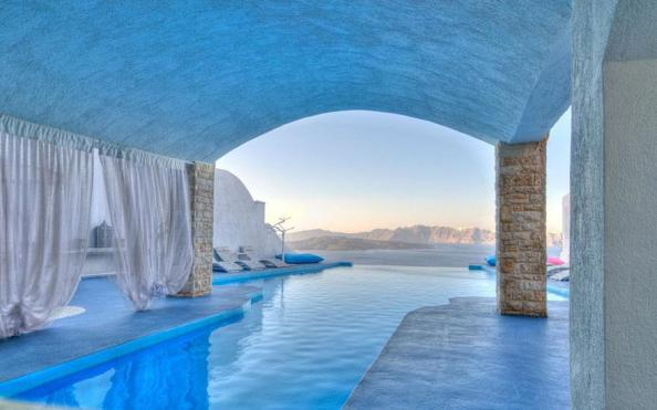 Swimming pool, Astarte Suits Hotel, Greece