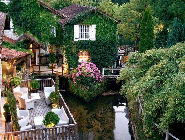 Best hotels in the world, Hotel Le Moulin du Roc, France