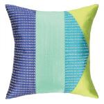 Peking Handicraft Tiburon Embroidered Pillow 24TT98AC20SQ
